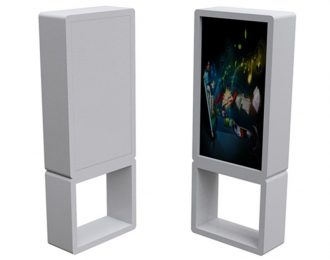 Retail Shop Advertising TV Player Stand for Sale