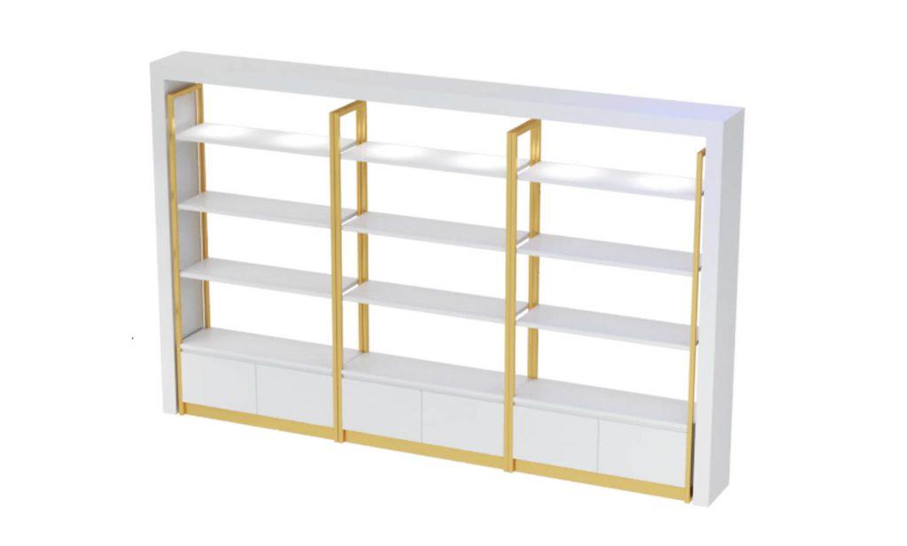 crepe display shelf