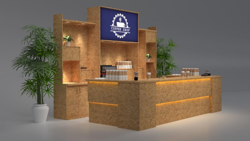 cafe bar counter