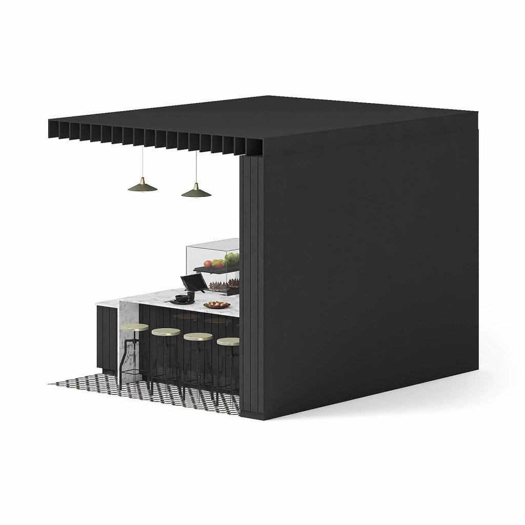 coffee bar counter