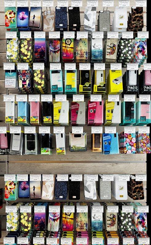 phone shelf